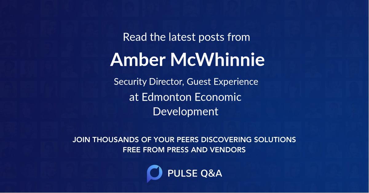 Amber McWhinnie