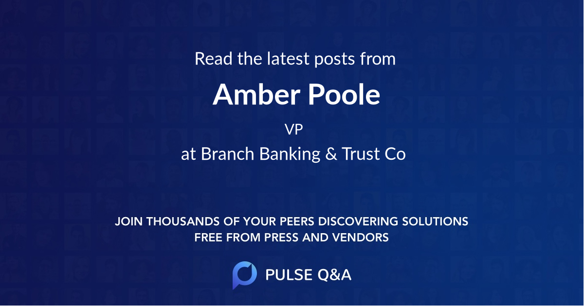Amber Poole