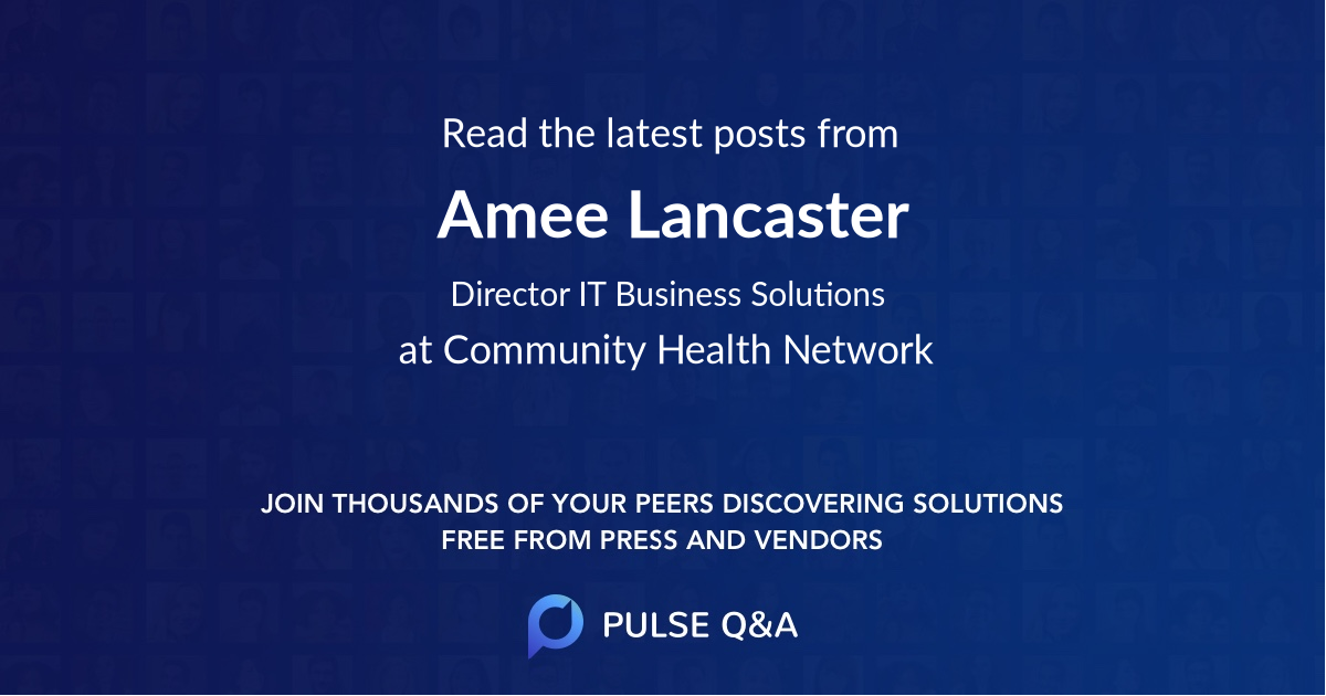 Amee Lancaster