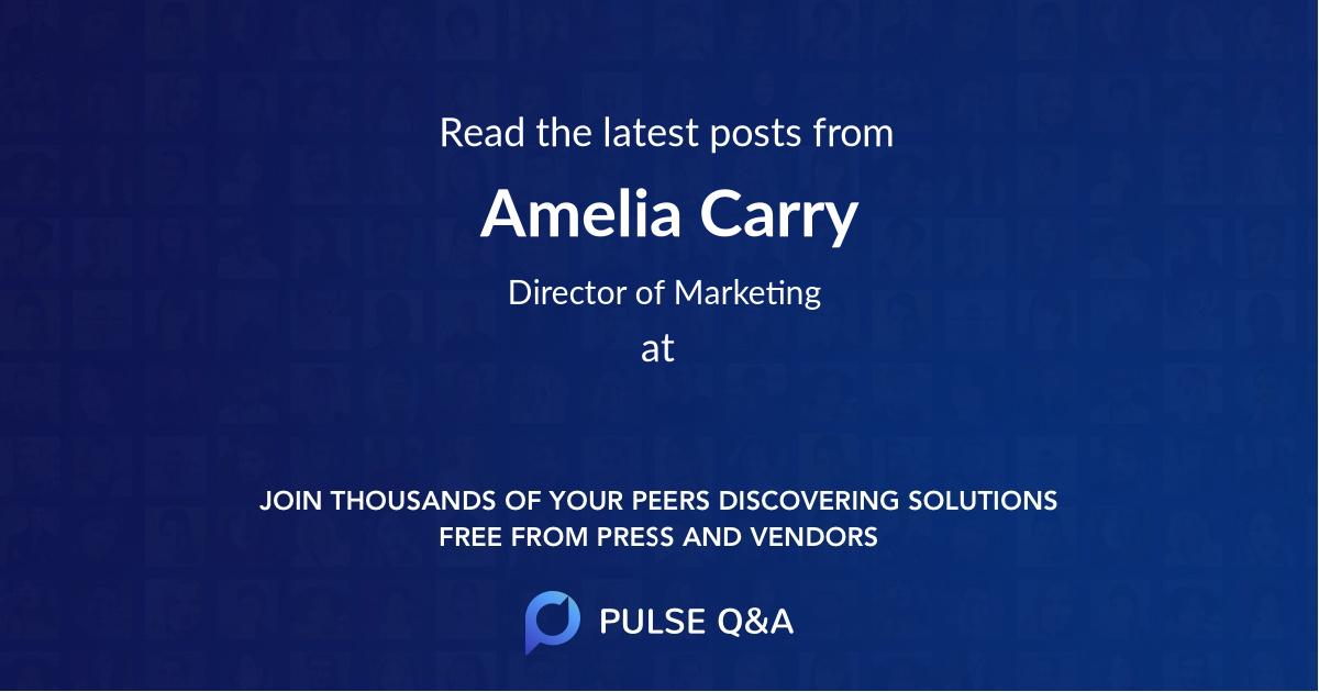 Amelia Carry