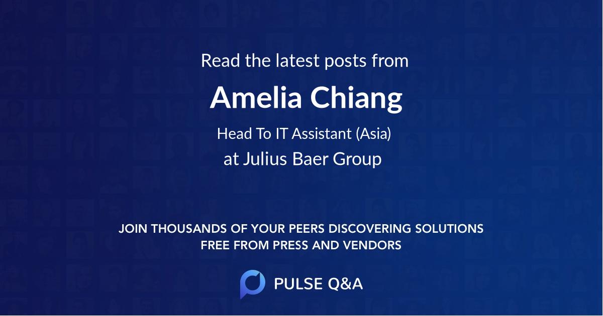 Amelia Chiang
