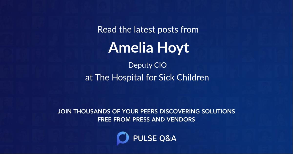 Amelia Hoyt