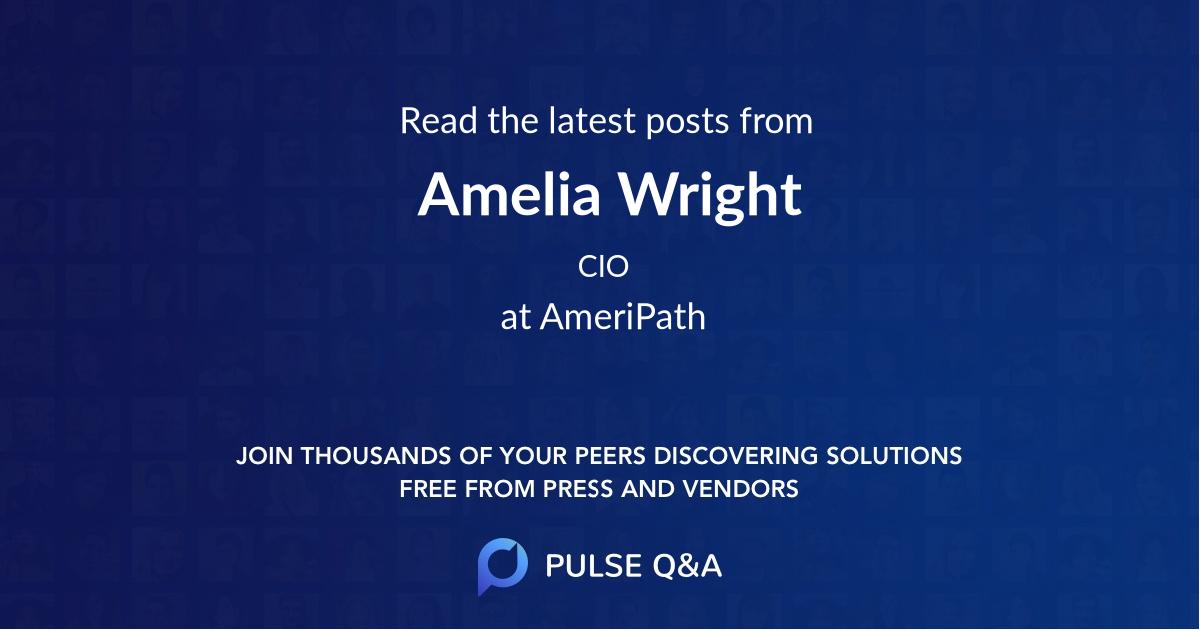 Amelia Wright