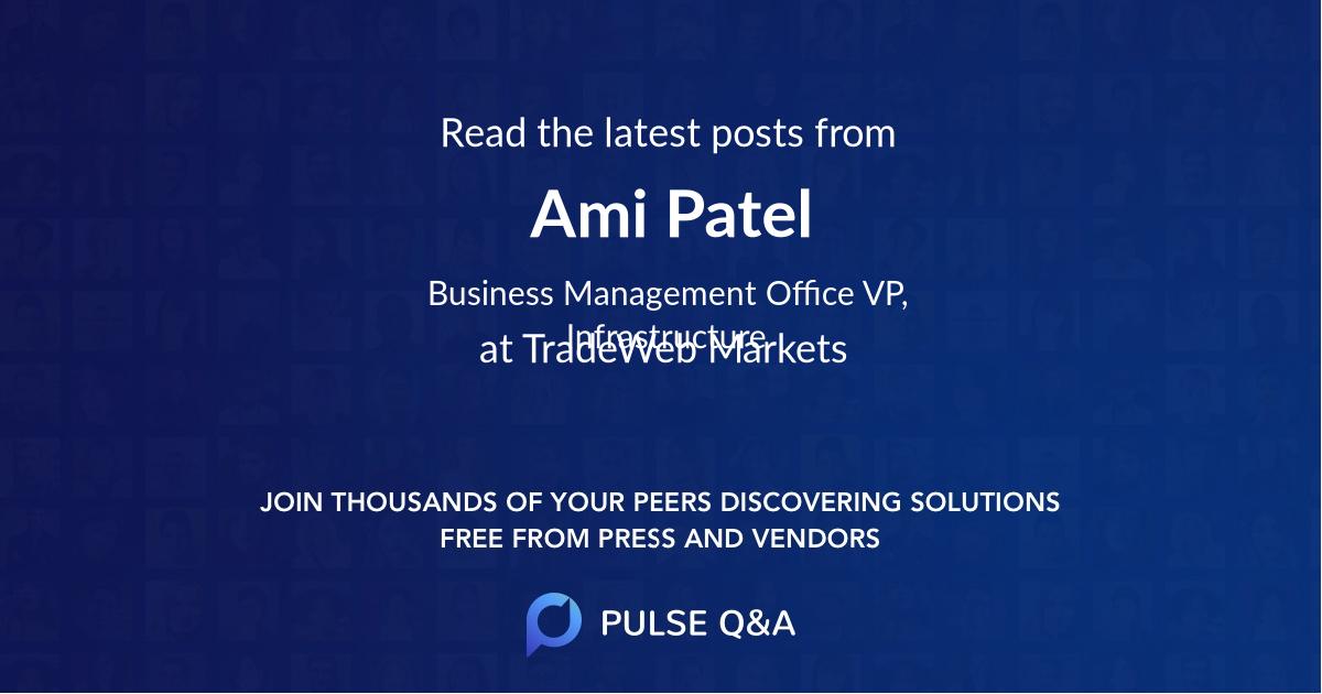 Ami Patel