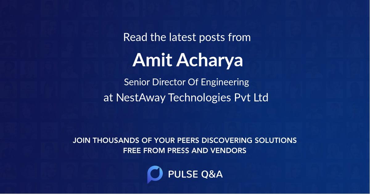 Amit Acharya