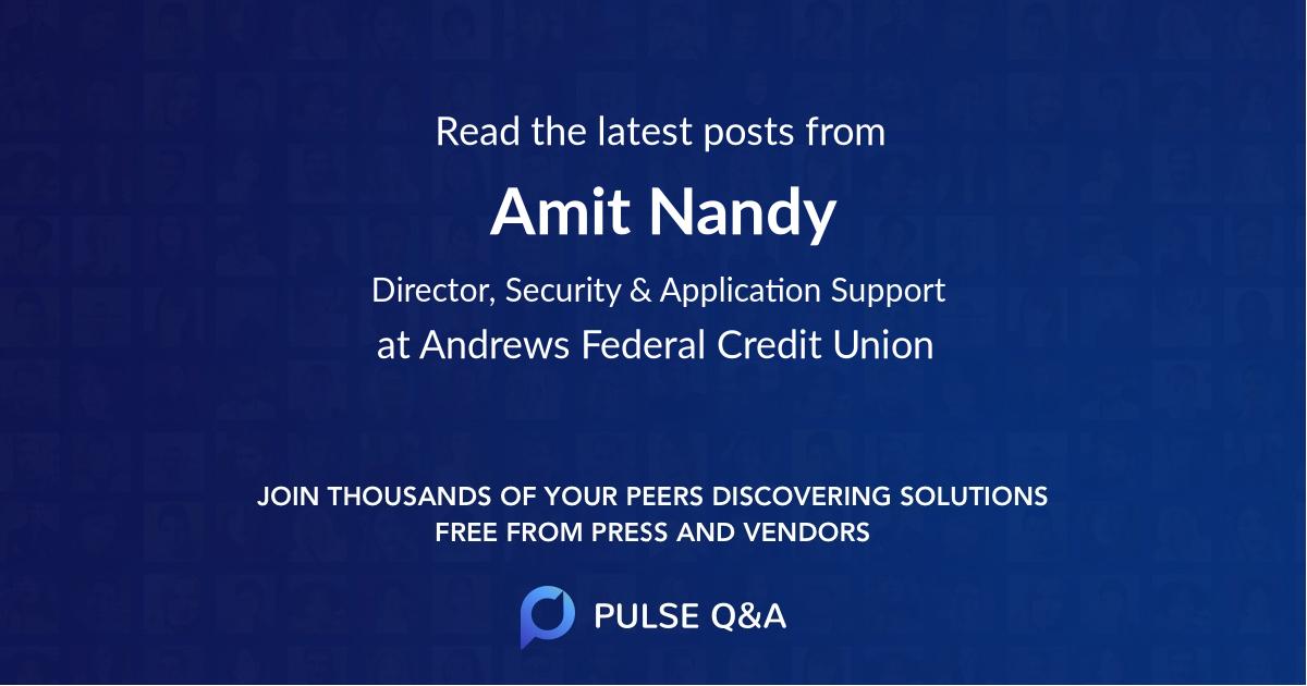 Amit Nandy