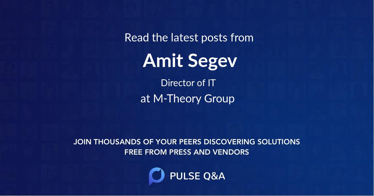 Amit Segev