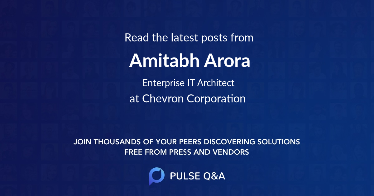 Amitabh Arora