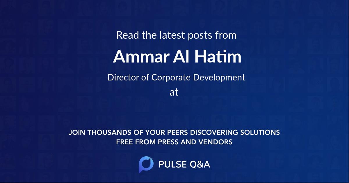 Ammar Al Hatim