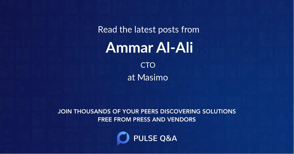 Ammar Al-Ali
