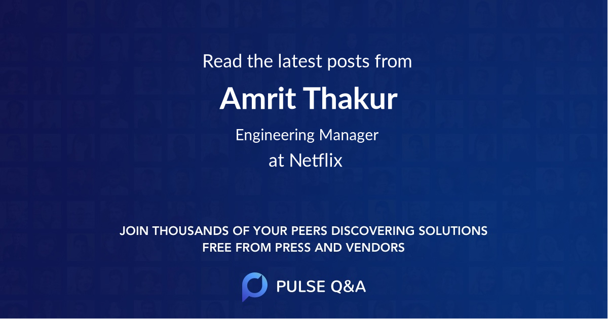 Amrit Thakur