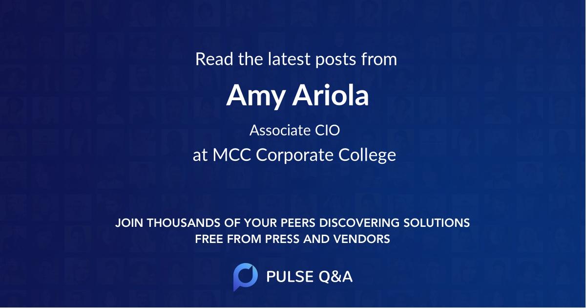 Amy Ariola