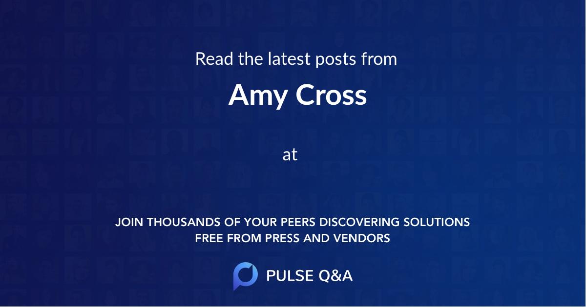 Amy Cross