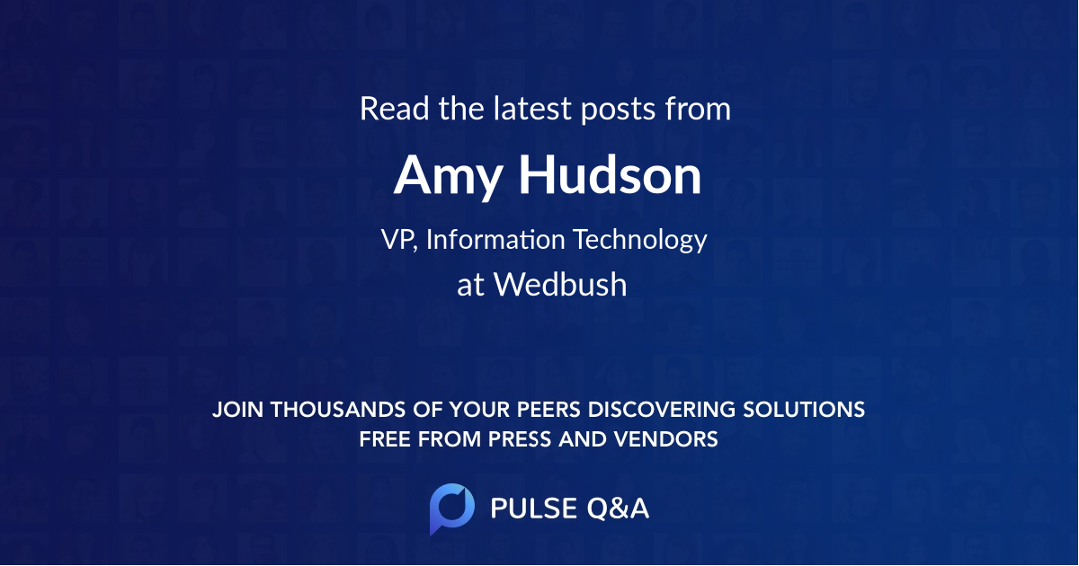 Amy Hudson