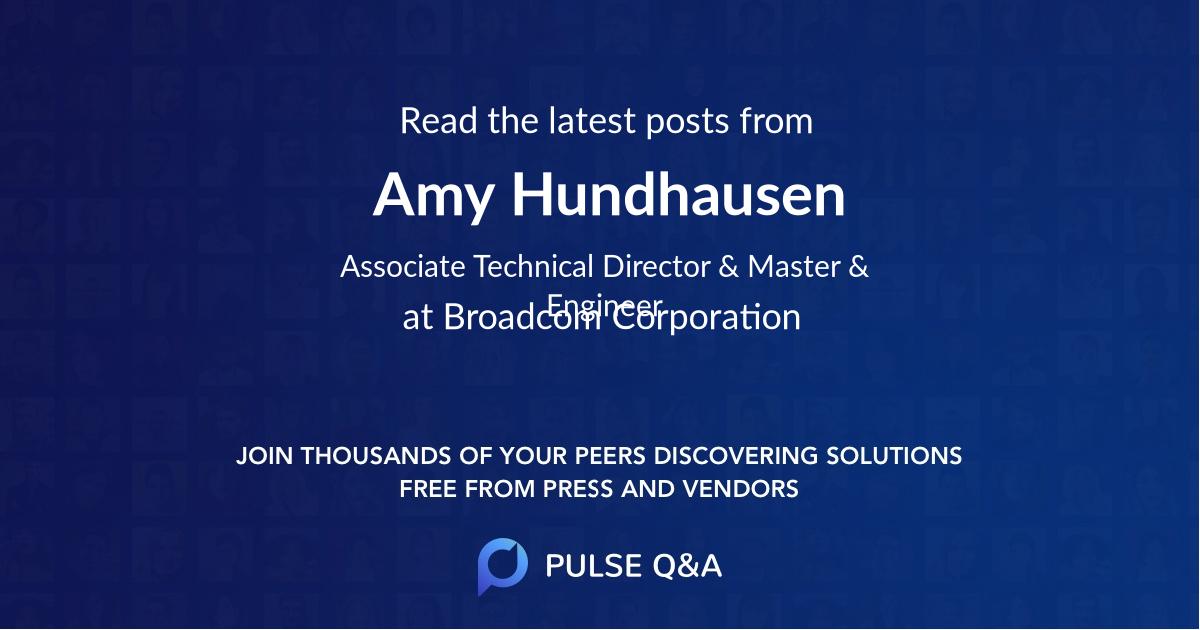 Amy Hundhausen
