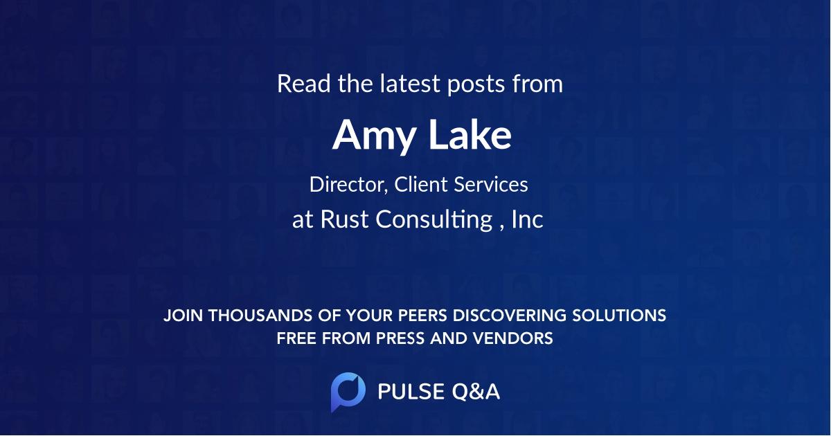 Amy Lake