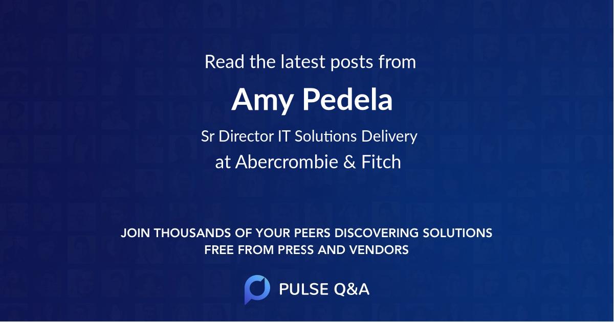 Amy Pedela