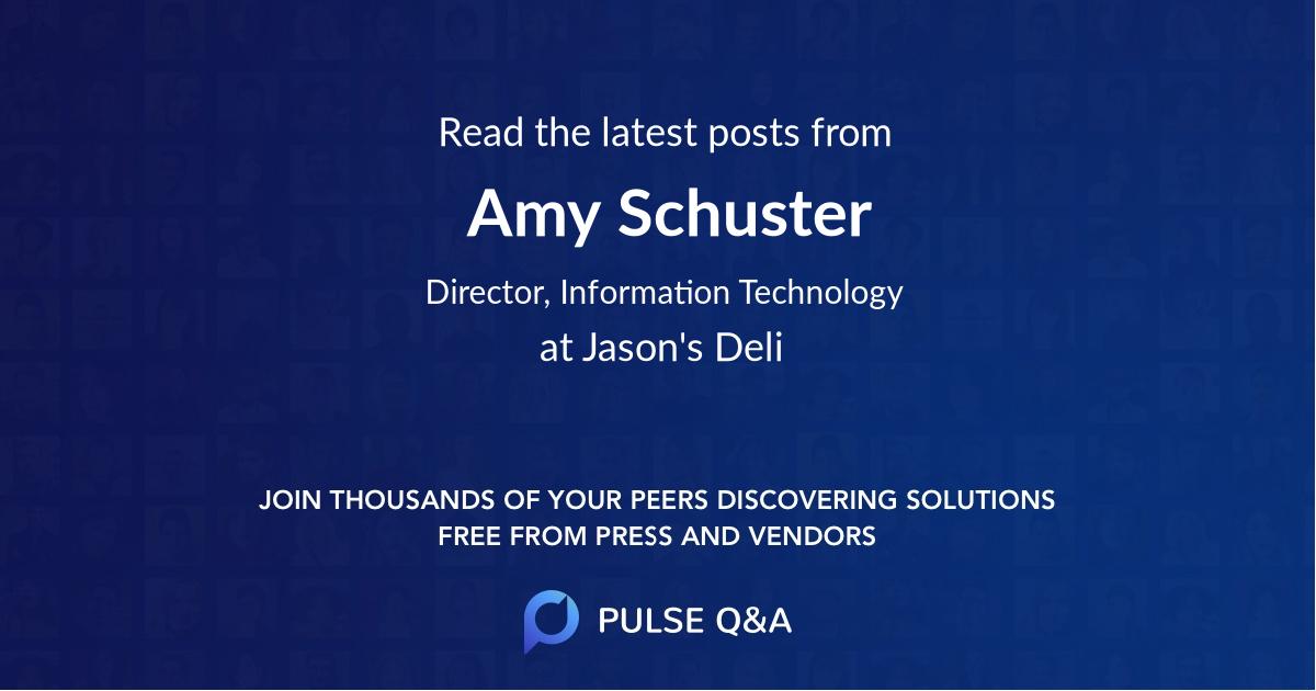 Amy Schuster