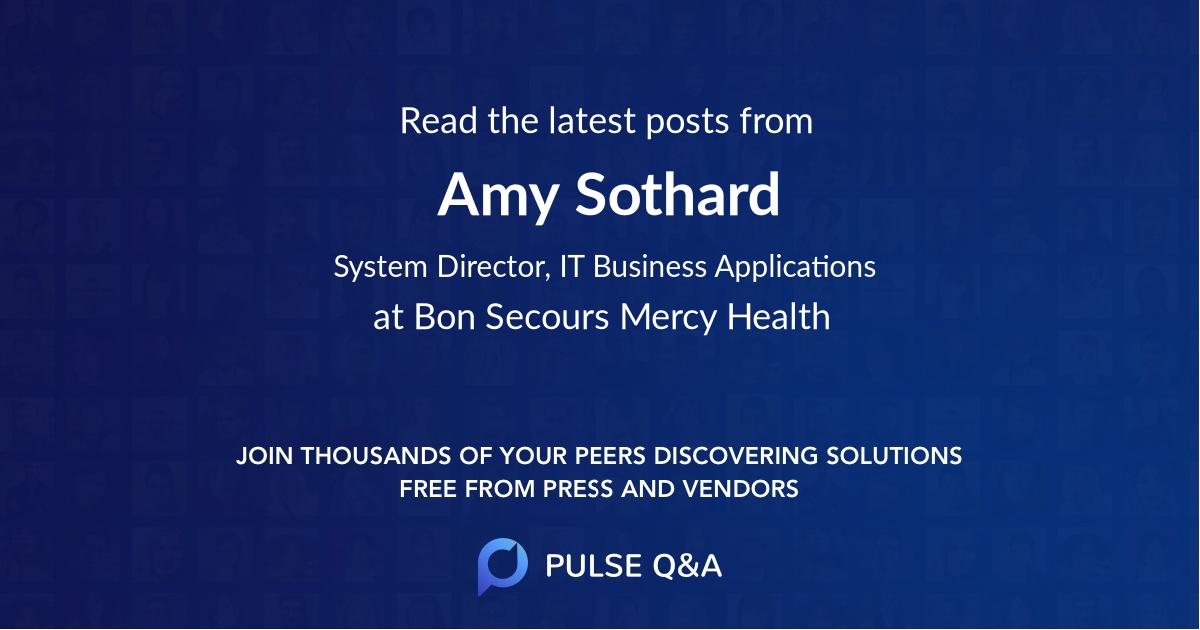 Amy Sothard