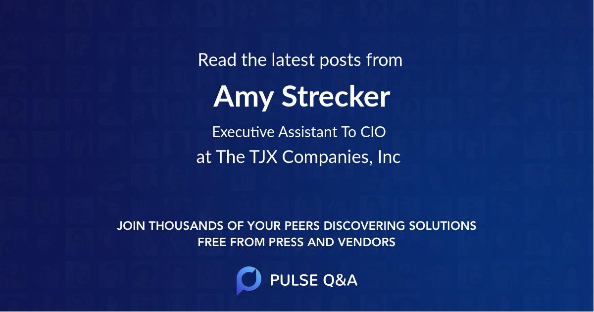 Amy Strecker