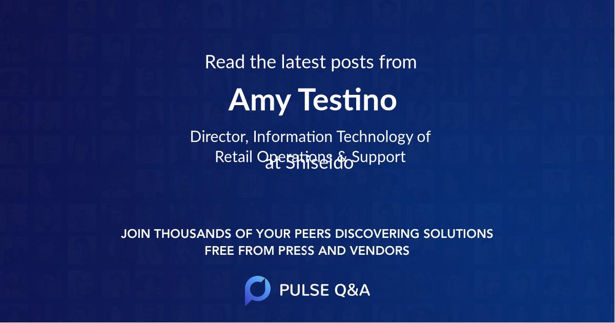 Amy Testino