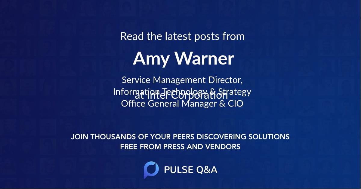Amy Warner