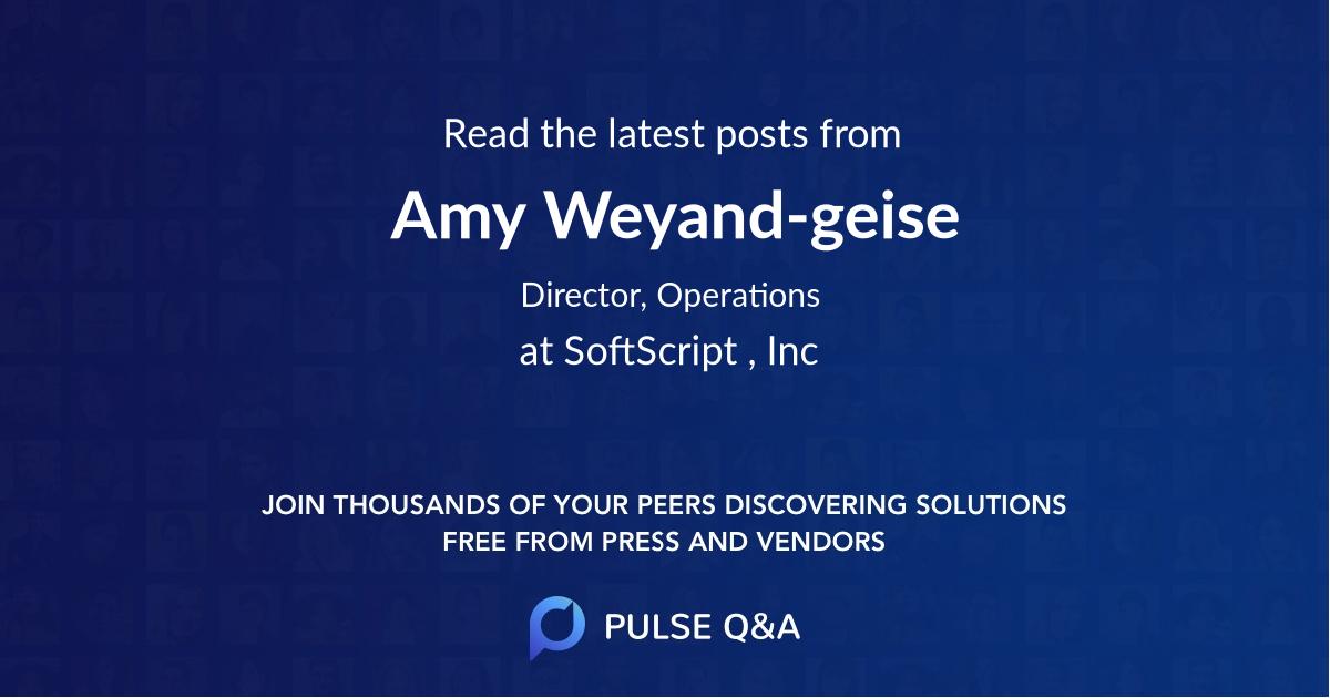 Amy Weyand-geise