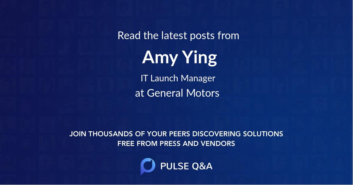Amy Ying