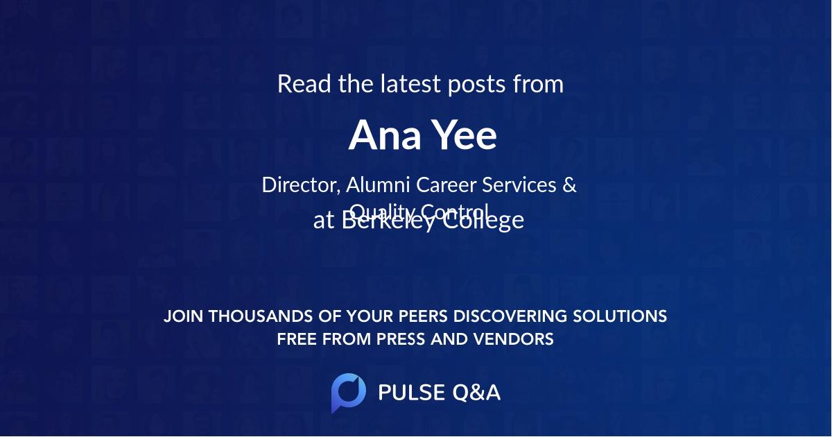 Ana Yee