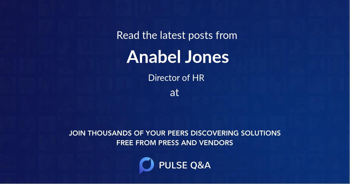 Anabel Jones