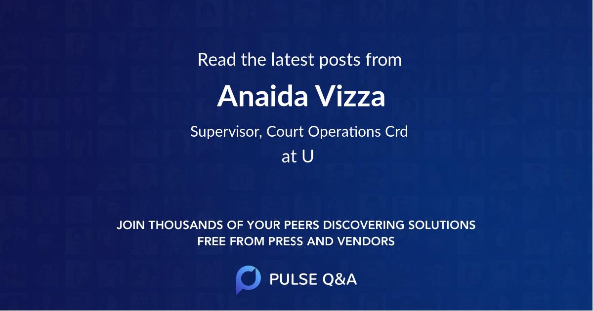 Anaida Vizza