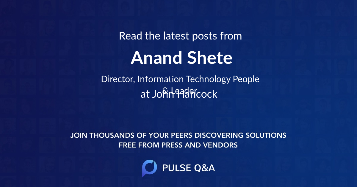 Anand Shete