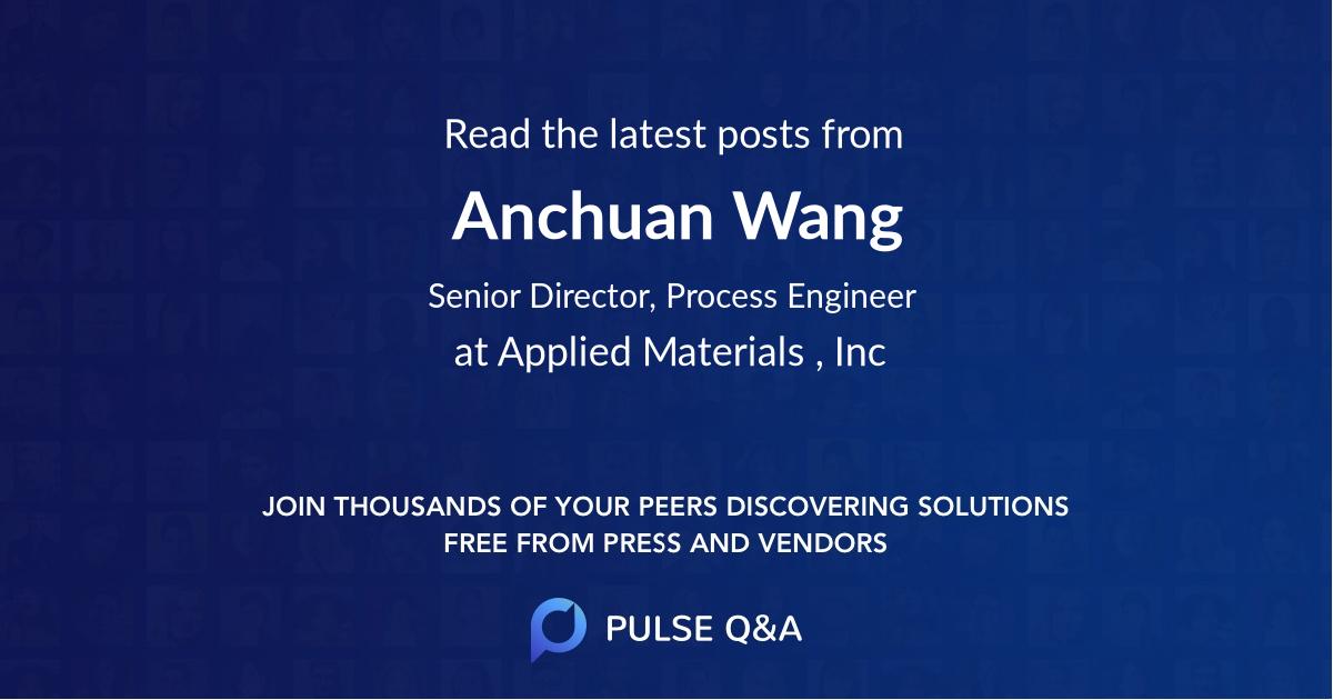 Anchuan Wang