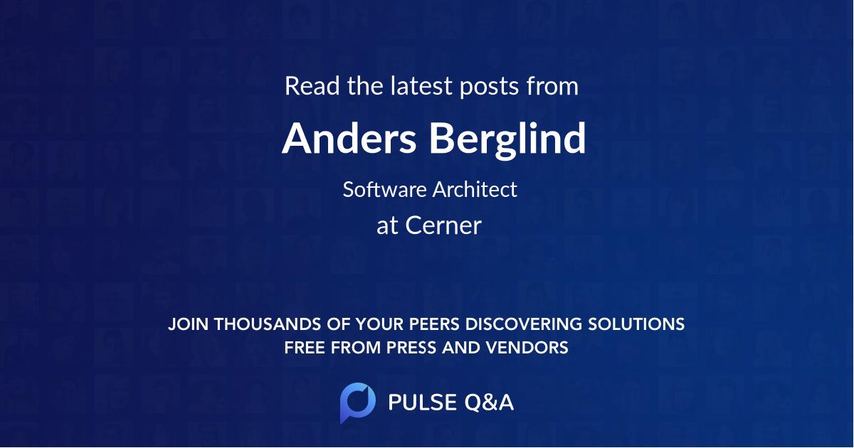Anders Berglind