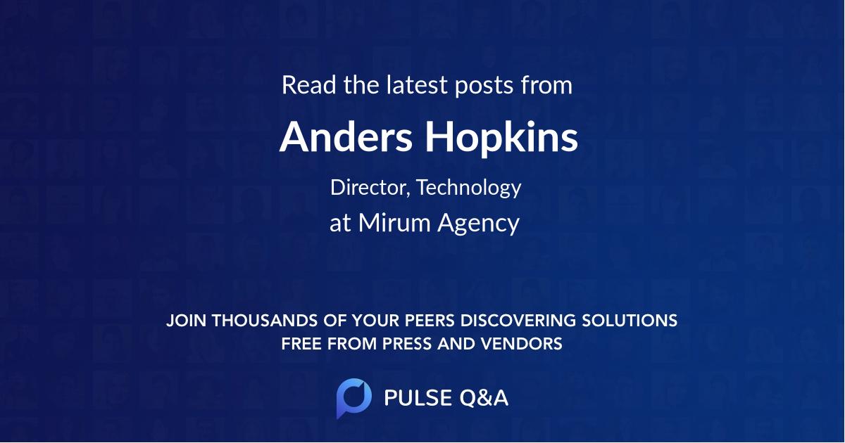 Anders Hopkins