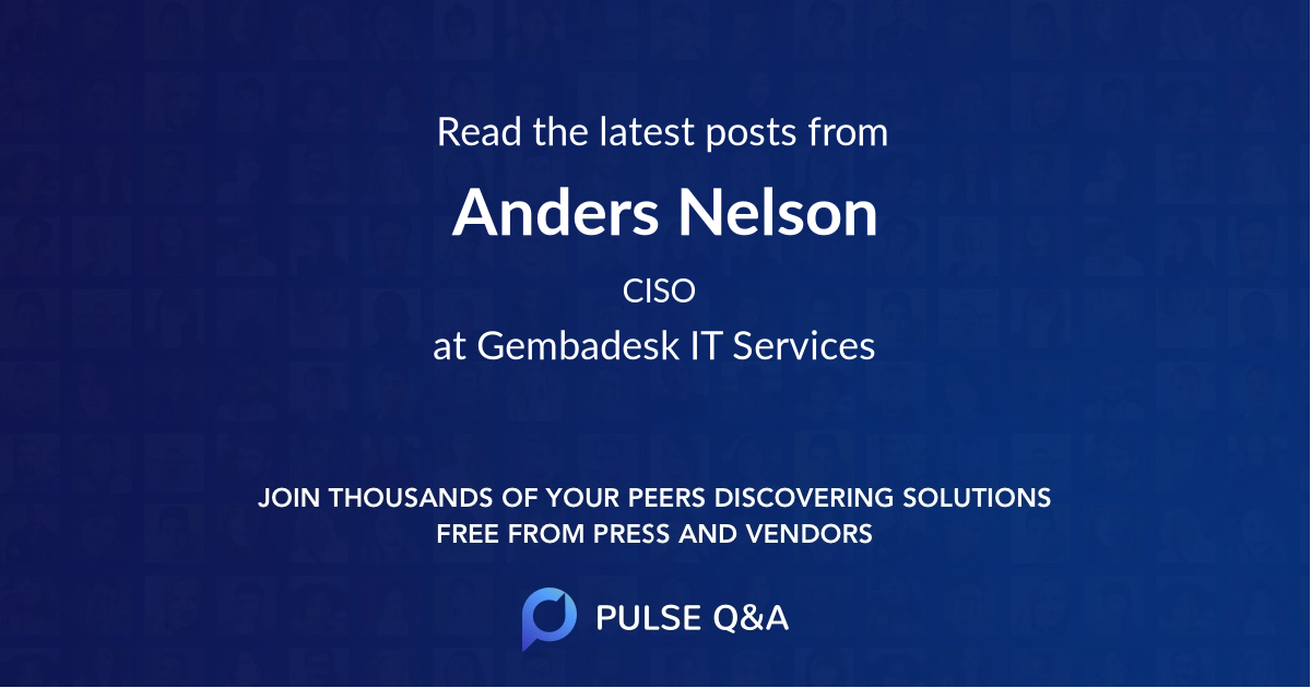 Anders Nelson