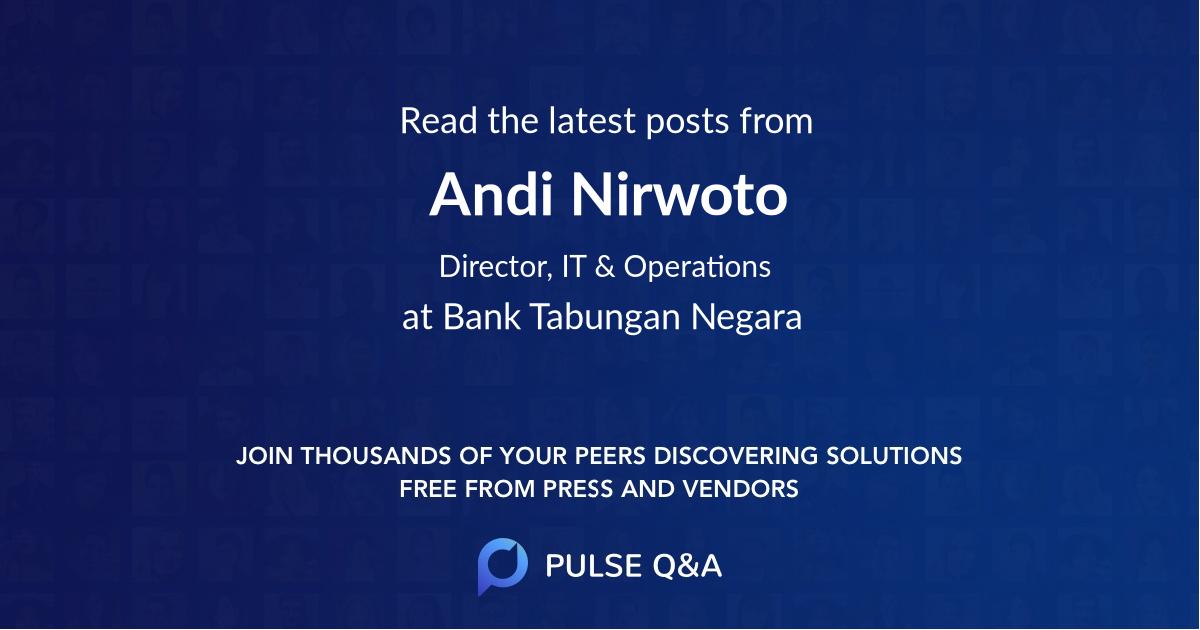 Andi Nirwoto