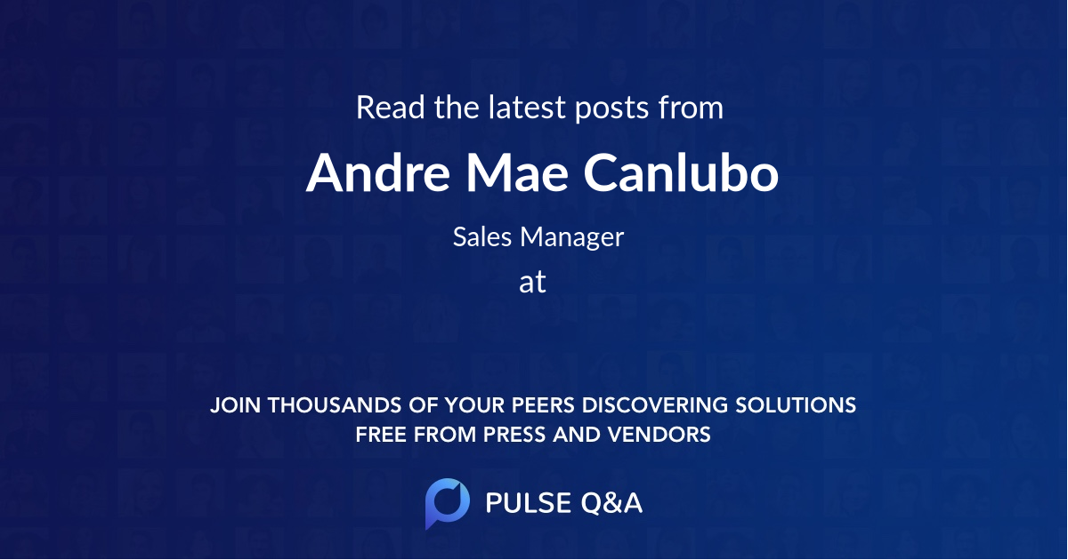 Andre Mae Canlubo