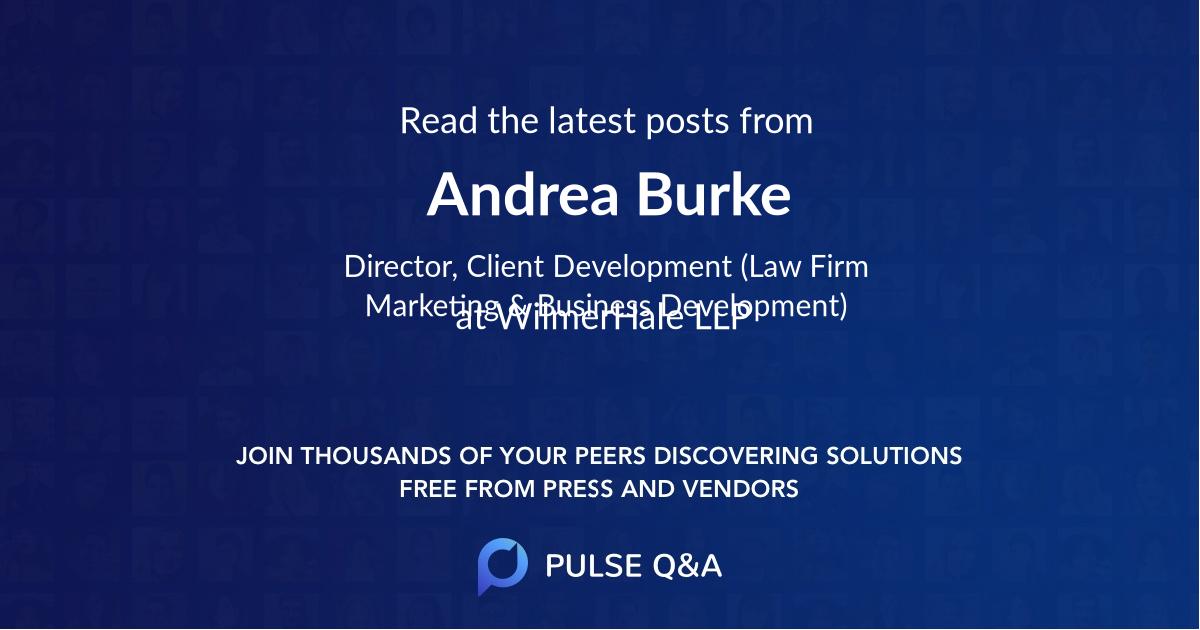 Andrea Burke
