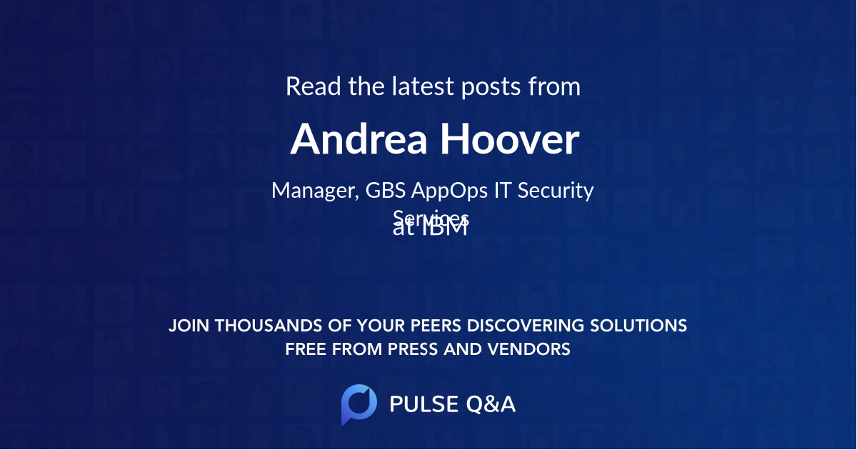 Andrea Hoover