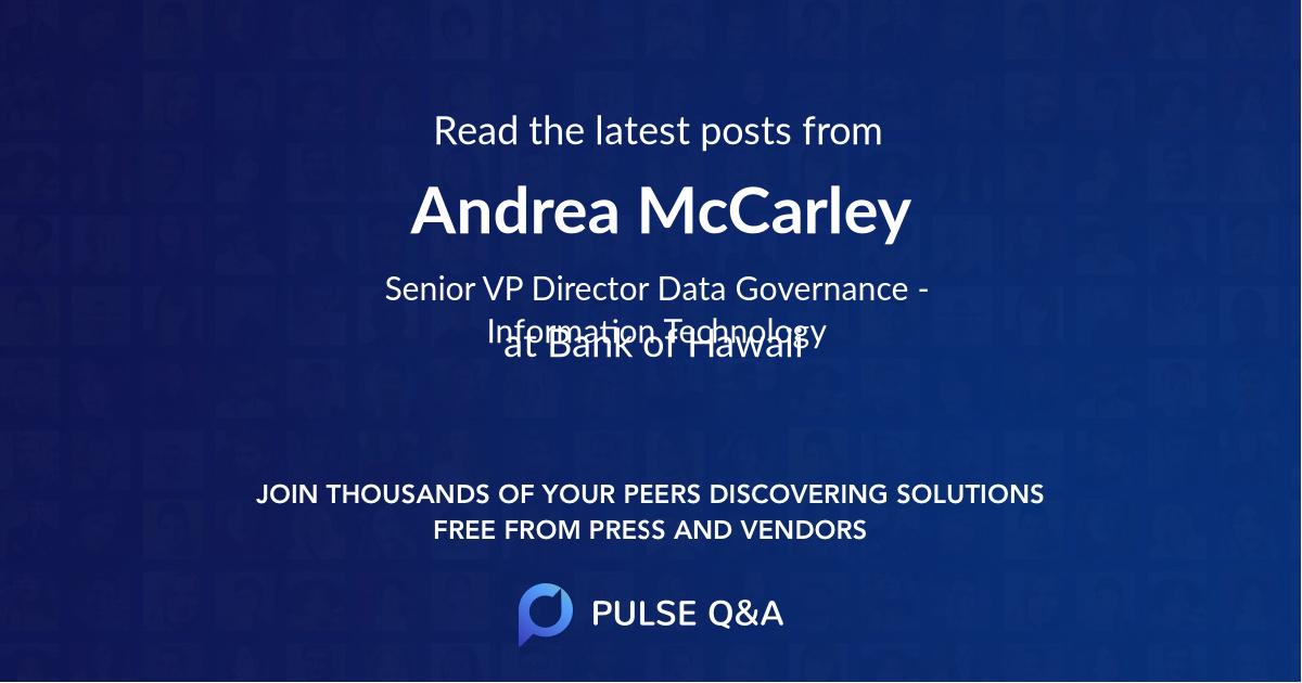 Andrea McCarley