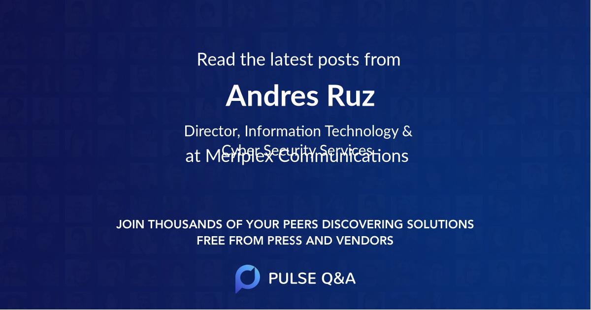 Andres Ruz