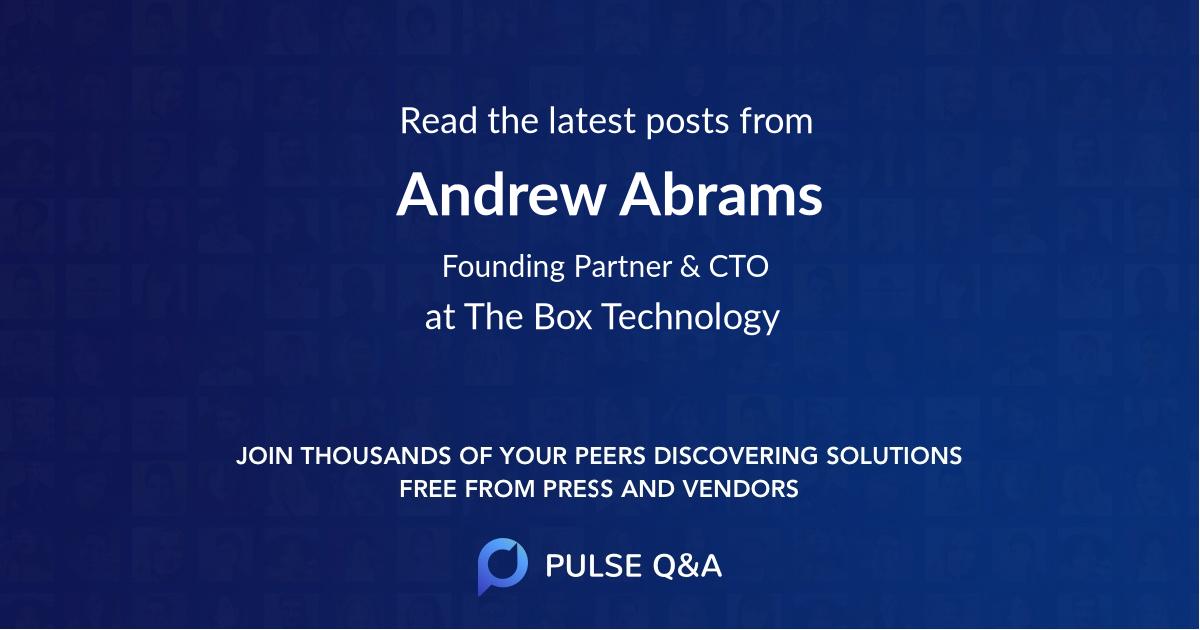 Andrew Abrams