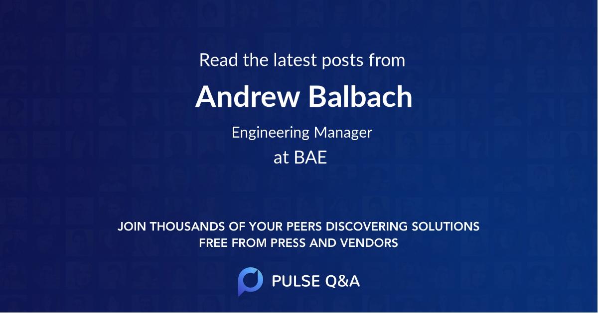 Andrew Balbach
