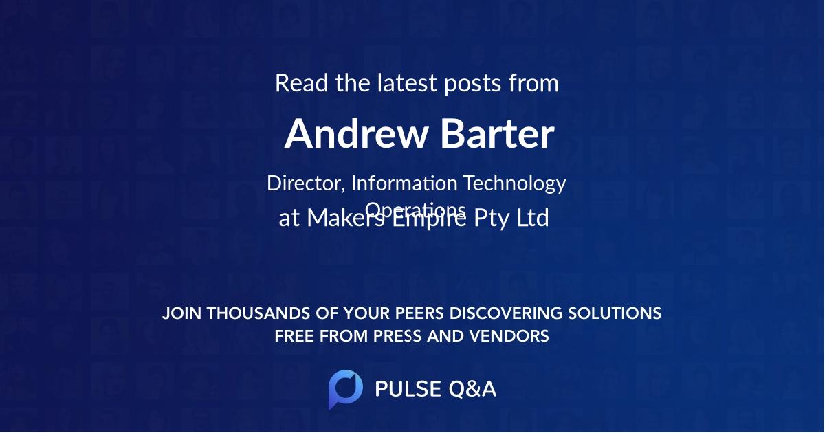Andrew Barter