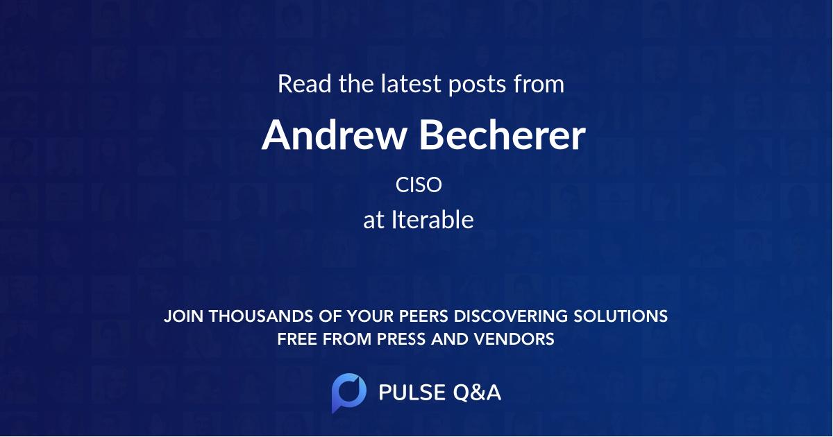 Andrew Becherer