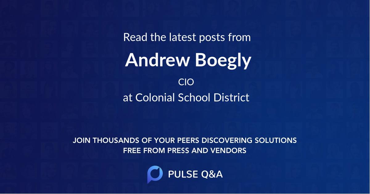 Andrew Boegly