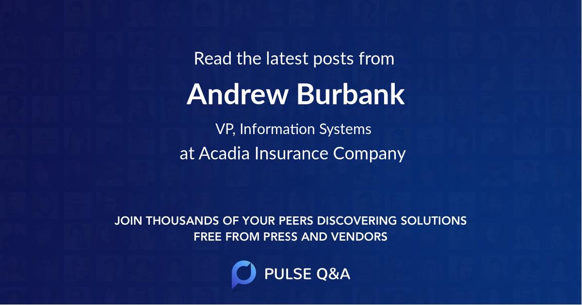 Andrew Burbank