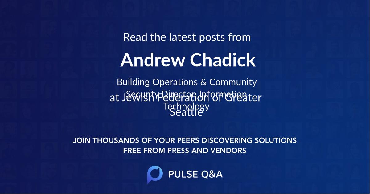 Andrew Chadick