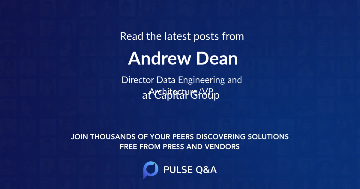 Andrew Dean